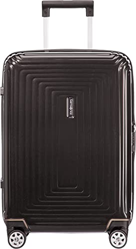 Samsonite Neopulse - Spinner S (Largeur : 23 cm) Bagage à Main, 55 cm, 44 L, Noir (Metallic Black)
