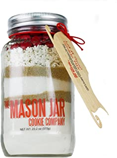 The Mason Jar Cookie Company Cookie Mix, Let It Snow, 20.2 Ounce