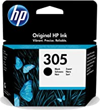 HP 3YM61AE 305 Original Ink Cartridge, Black, Single Pack