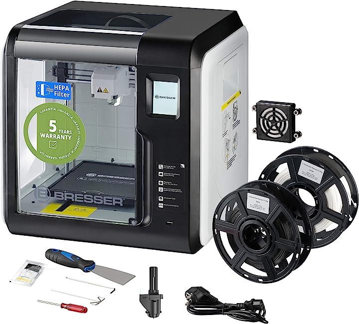 Stampante 3d bresser - filamento pla per stampante 3d, 500 grammi 2010100