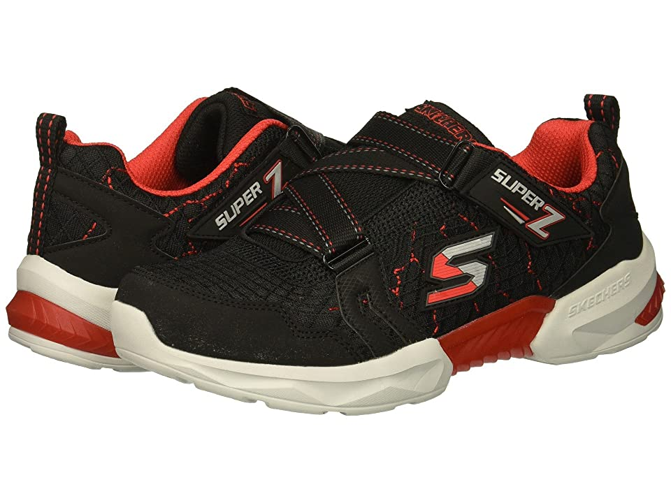 SKECHERS KIDS Techtronix 97842L (Little Kid/Big Kid) (Black/Red) Boy
