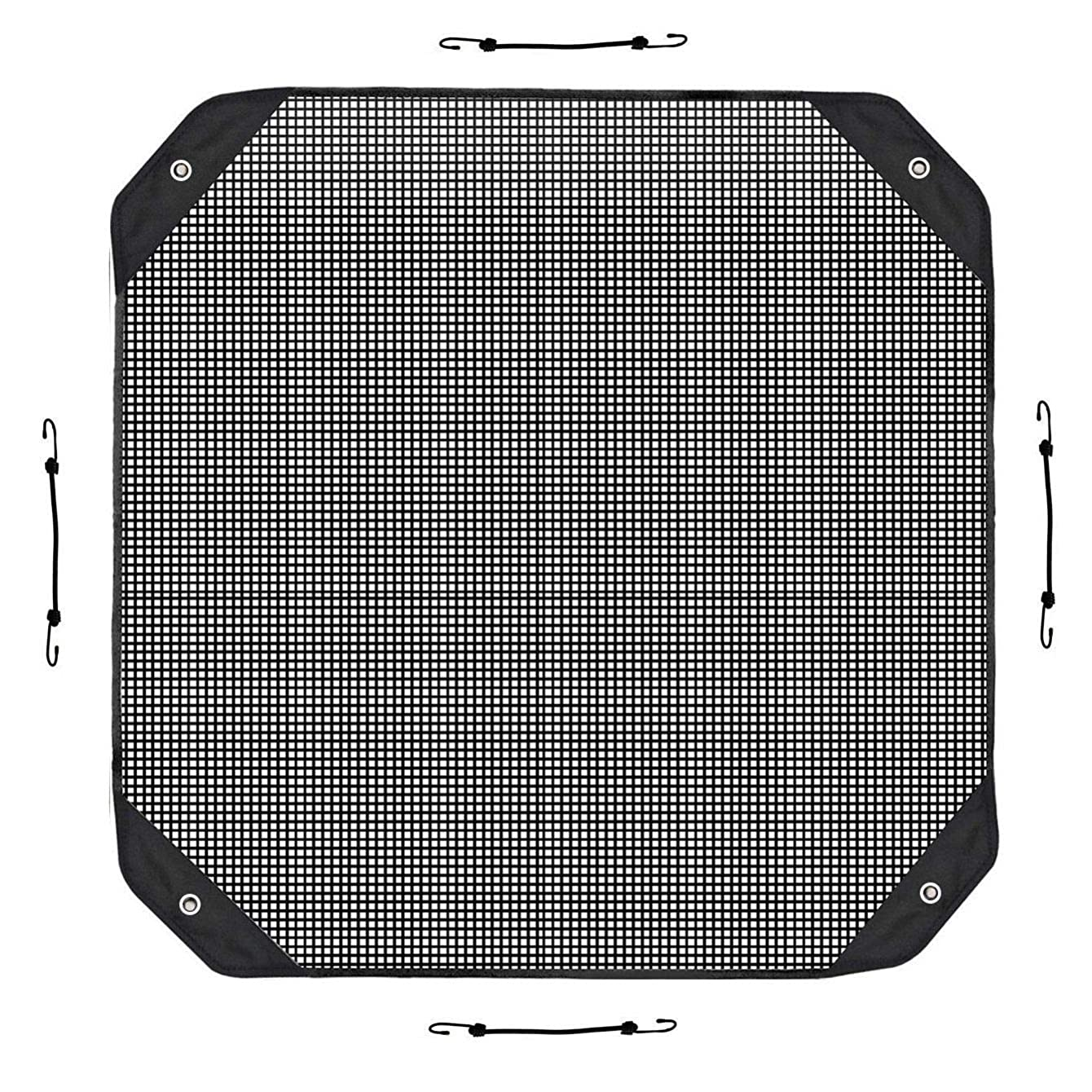 Premium Heavy Duty Mesh Air Conditioner Cover Outdoor - Top Summer Central AC Defender for Outside Units (36