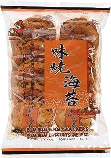 Bin Bin Reiscracker Yaki Nori 135g, 10er Pack 10 x 135 g