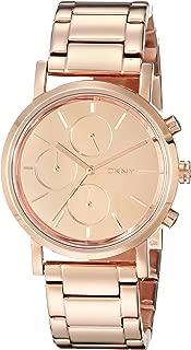 Soho Rose Gold Tone Chronograph Woman's Watch