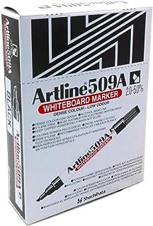 Artline 509A WHITEBOARD MARKER, 2-5mm Black (BOX OF 12 PCS)