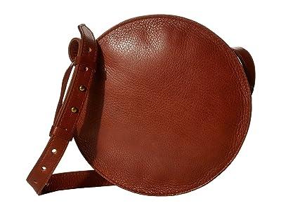 Madewell Simple Circle Crossbody (English Saddle) Handbags
