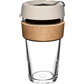 KeepCup Brew Glass Coffee Cup w Cork (227ml)