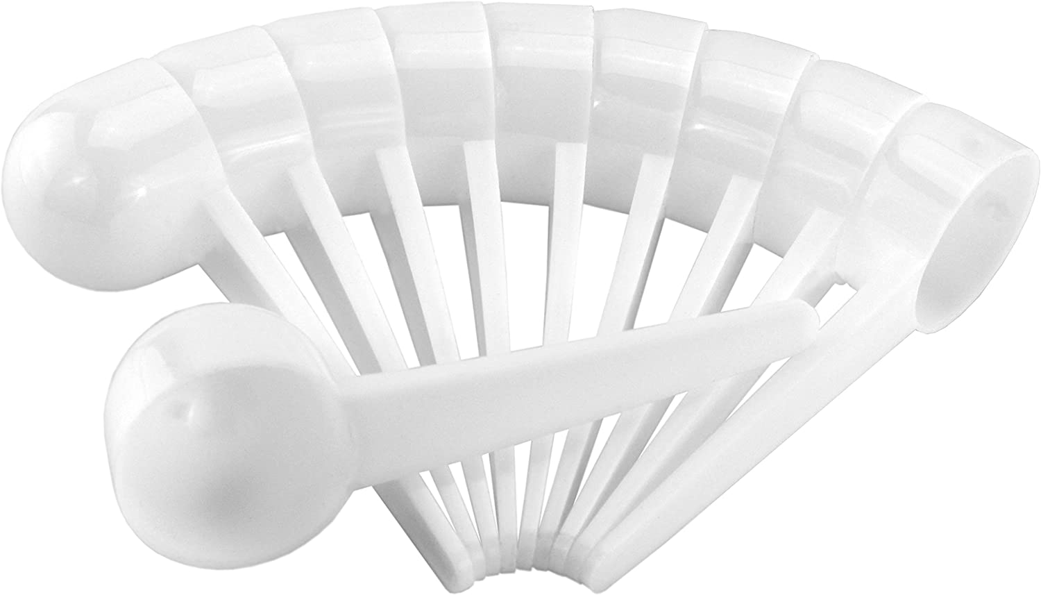 Coffee gift Scoops Tablespoon Plastic Measuring ; Ide 10-Pack Spoons Max 78% OFF