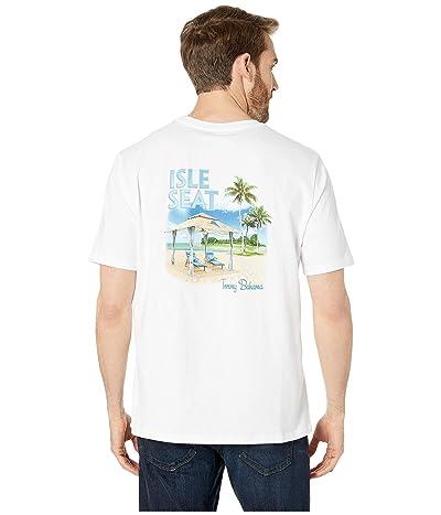 Tommy Bahama Isle Seat Tee (White) Men