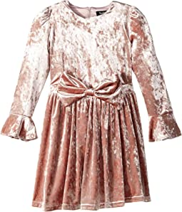 Velvet Bowie Dress (Big Kids)