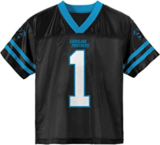 Outerstuff Cam Newton Carolina Panthers #1 Black Youth Home Player Jersey