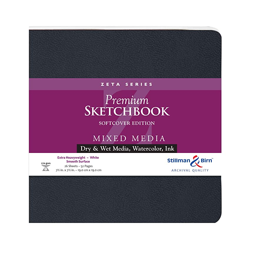 Stillman & Birn Zeta Series Softcover Sketchbook, 7.5