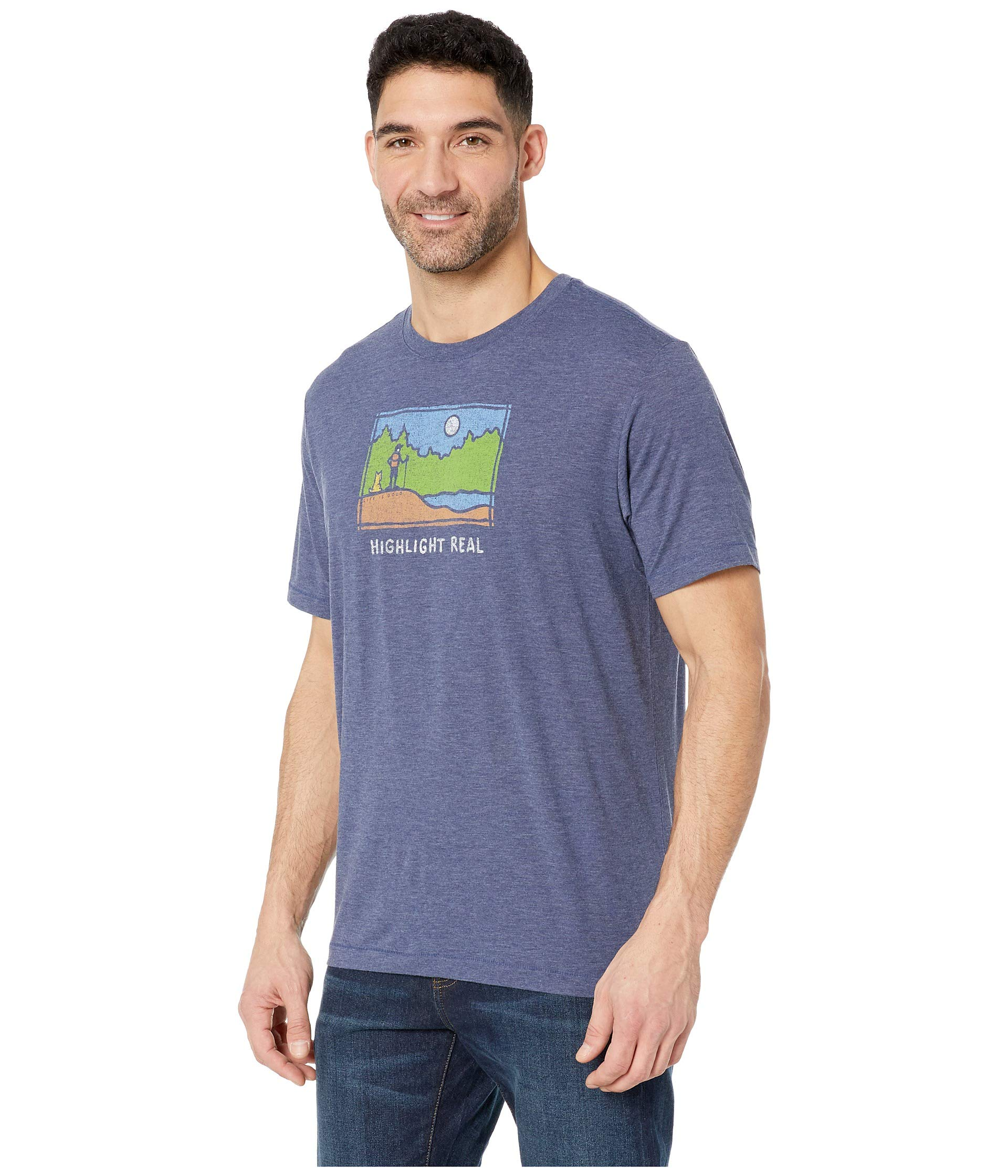 T Cool Good Is shirt Highlight Reel Darkest Blue Life pOCXnaZqw