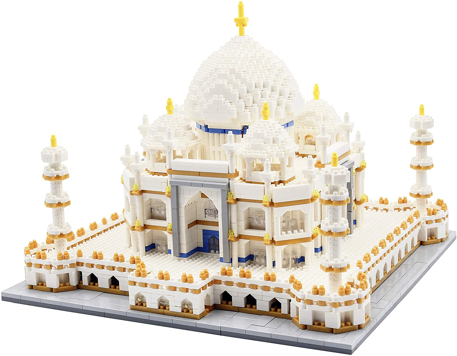 dOvOb Micro Mini Blocks Taj Mahal Building and Architecture Model Set,(4000Pieces) Toys Gifts for Kid and Adult