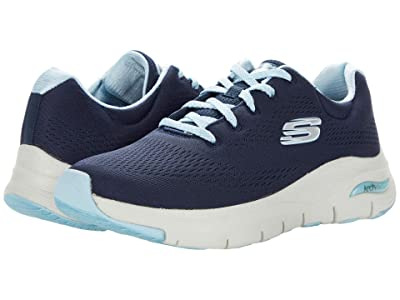 SKECHERS Arch Fit Big Appeal (Navy/Pink) Women