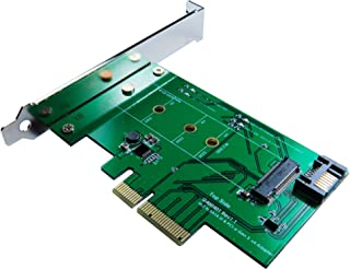 ZTC Lightning Card M.2 NGFF SSD (PCIe 2 and 4 Lane or SATA III Type) To PCI-e or SATA III Internal Card. UP To 1.6GB/s on ...
