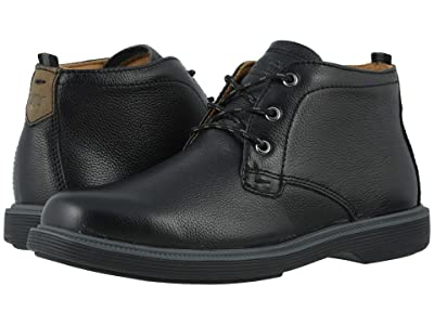 Florsheim Kids Supacush Chukka, Jr. (Toddler/Little Kid/Big Kid) (Black Milled) Boy