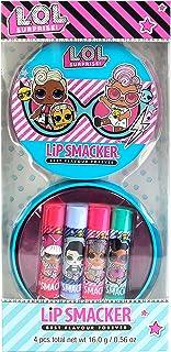 Lip Smacker Lip Smacker - L.O.L Surprise 4 Flavoured Lip Balm Tin - Confezione Di Latta Con Set Di 4 Burrocacao Aromatizza...