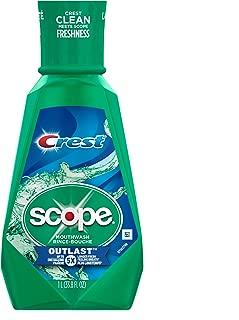 Crest Scope Outlast Mouthwash, 1 l
