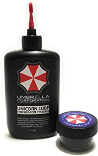 Umbrella Corporation Unicorn Lube Gun Oil Plus .5oz Jar Aeroshell 33MS / 64 Grease