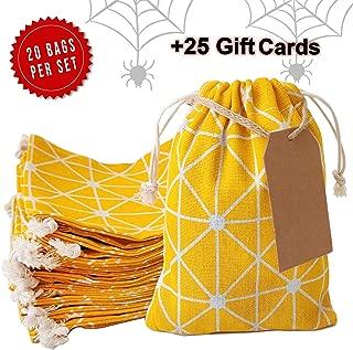 Erimova - Favor bags with drawstring 20 pcs + 25 Gift cards, 8
