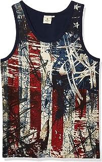 AKADEMIKS Men's USA Americana Tank Top