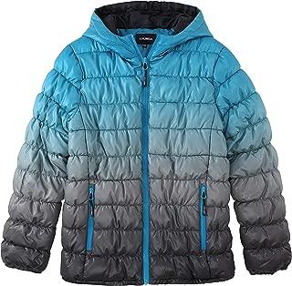 Krumba Boy's Zip Off Gradient Water Resistant Puffer Jacket