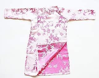 Ao Dai, Vietnamese Traditional Dress for Children - Pink Aodai/Size#2 - AO242