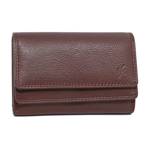 3e3bba3421 Brown Leather Purses with Clasp  Amazon.co.uk