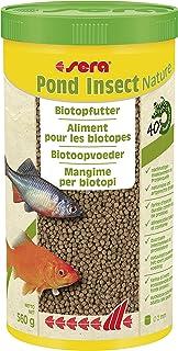 sera Pond Insect Nature 2mm 1000ml EIN Biotopfutter BZW. Teichfutter oder Goldfischfutter aus nachhaltigem Insektenmehl als Proteinquelle - ohne Farb- und Konservierungsstoffe 32430