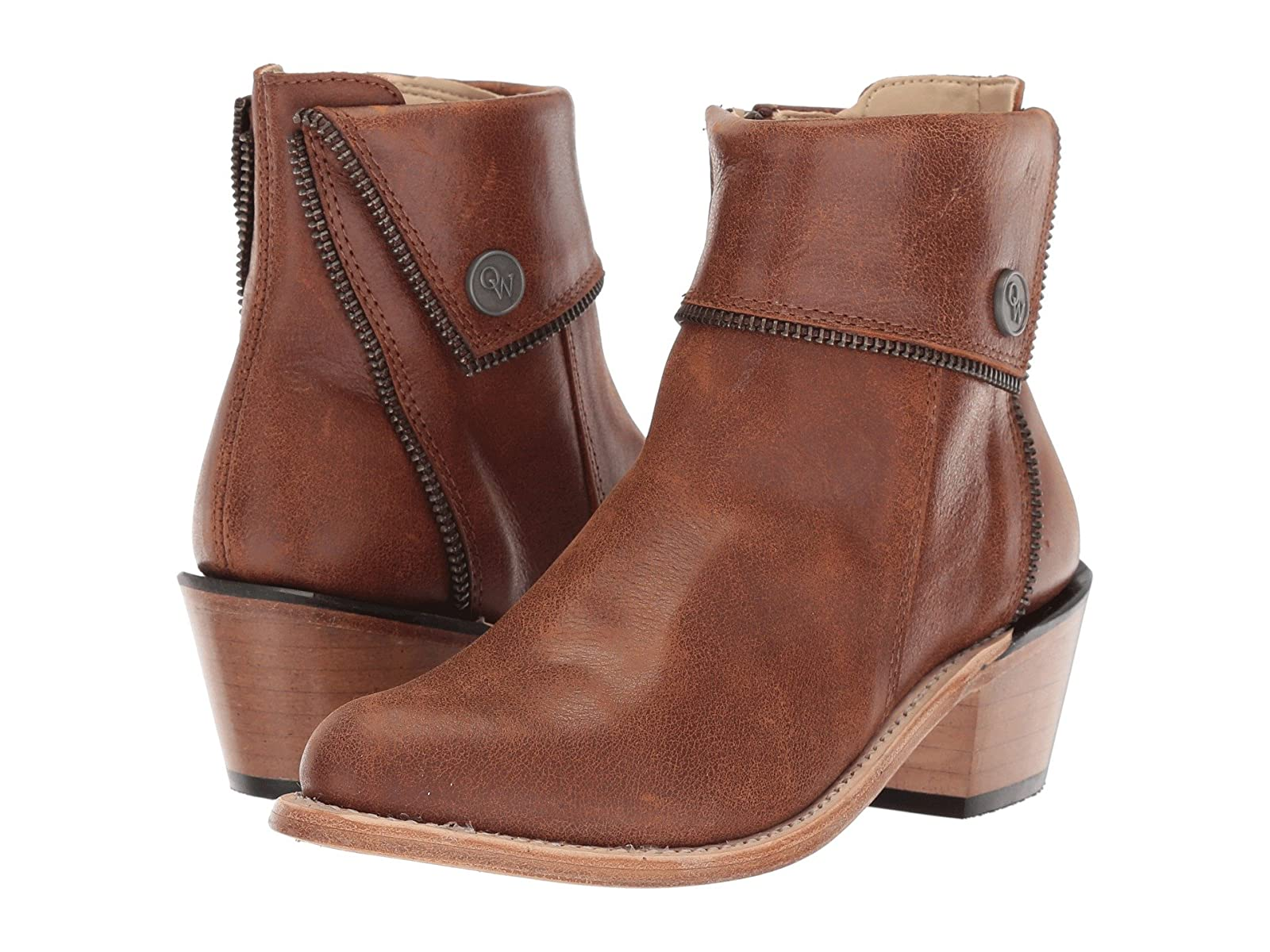 Old West Kids Boots Zipper Shoe Boot (Toddler/Little Kid)Economical and quality shoes