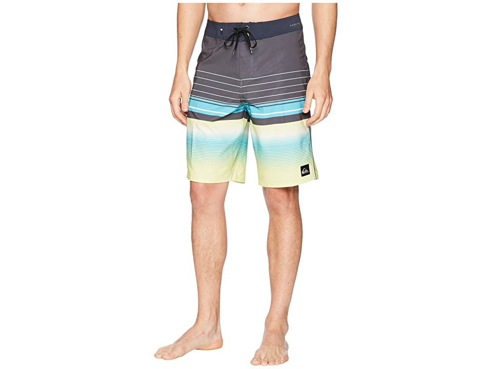 Quiksilver Highline Swell Vision 21 Boardshorts (Cyan Blue) Men