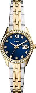 Women's Scarlette Micro Stainless Steel Crystal-Accented Quartz Watch