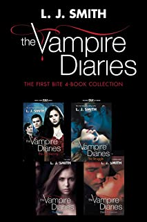 Vampire Diaries: The First Bite 4-Book Collection: The Awakening, The Struggle, The Fury, Dark Reunion