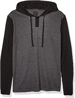 Men's Pick Up Hooded Henley Shirt