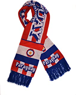 Paraguay National Soccer Team | Premium Soccer Fan Scarf | Ships from USA