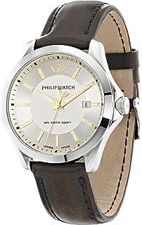 Philip Watch Orologio Da Uomo, Collezione Blaze, In Acciaio, Cuoio - R8251165002