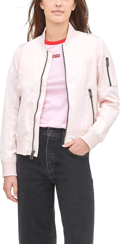 Levi's National uniform free Max 89% OFF shipping Women's Melanie Bomber Plus Jacket Sizes Standard