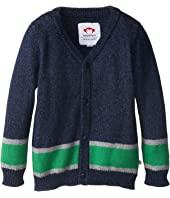 Appaman Kids - Retro Inspired Super Soft Football Cardigan (Toddler/Little Kids/Big Kids)