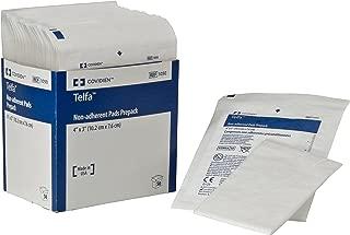 Covidien 1050 Telfa Non-Adherent Pads Prepack,  4 x 3 (Pack of 50)