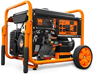 WEN GN9500 420cc Transfer Switch and RV Ready 120V/240V 9500-Watt Portable Generator
