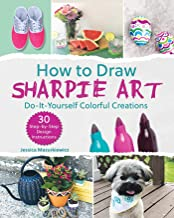 How to Draw Sharpie Art: Do-It-Yourself Colorful Creations
