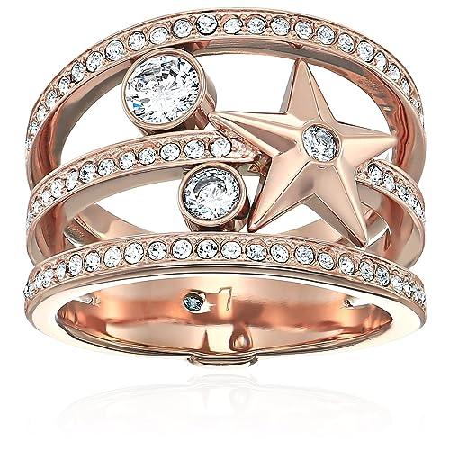 df5d1d08542f Michael Kors Beyond Brilliant Celestial Rose Gold-Tone Ring