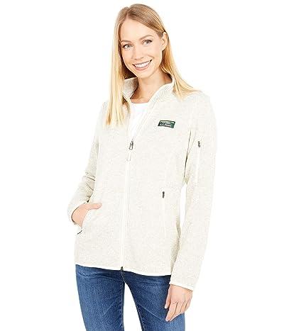 L.L.Bean Sweater Fleece Full Zip Jacket (Sailcloth) Women