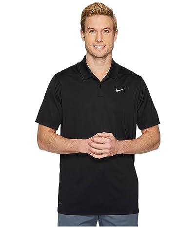 Nike Golf Dri-FITtm Victory Polo (Black/Flat Silver) Men