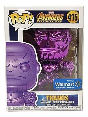 Avengers Funko POP Marvel: Infinity War - Thanos - Purple Chrome - Walmart Exclusive
