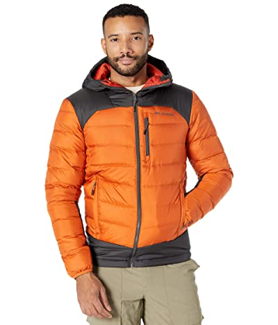 Columbia Autumn Parktm Down Hooded Jacket (Harvester/Shark/Flame/Shark) Men
