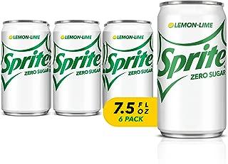 Sprite Zero 7.5 Fluid Ounce (Pack of 6)