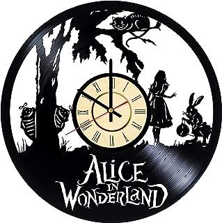 Best alice in wonderland cartoon clock Reviews
