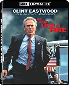 Starring Clint Eastwood, IN THE LINE OF FIRE arrives on 4K for the First Time June 15 from Sony Pictures